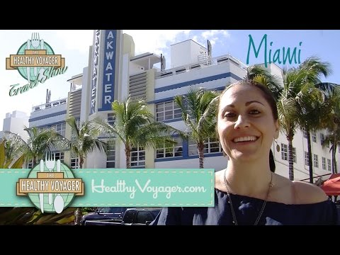 Miami Healthy and Vegan Travel Show on The Healthy Voyager Hosted by Carolyn Scott-Hamilton
