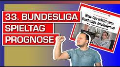 Bundesliga 33. Spieltag Prognosen von Dirk Paulsen / Bild.de Interview