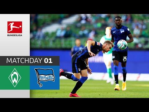 SV Werder Bremen - Hertha Berlin 1-4 | Highlights | Matchday 1 – Bundesliga 2020/21