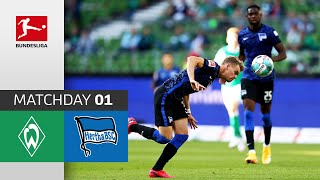 #svwbsc   highlights from matchday 1!► sub now: https://redirect.bundesliga.com/_bwcs watch the bundesliga of sv werder bremen vs. hertha berlin f...