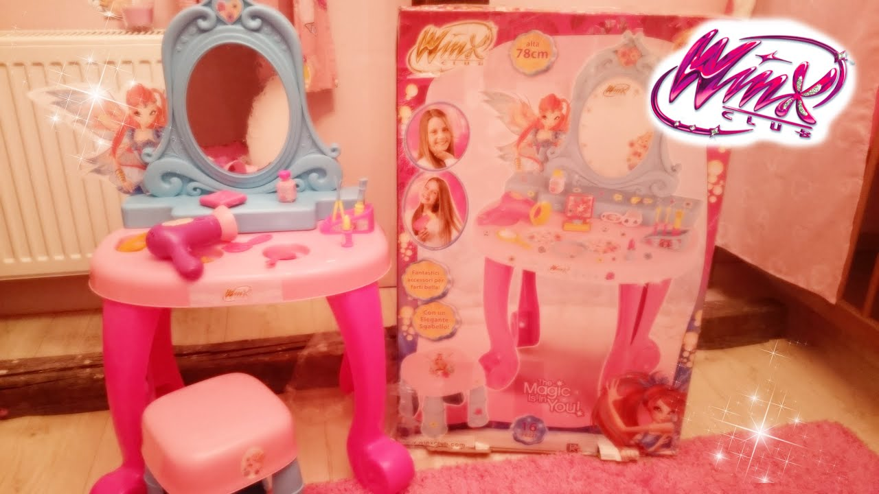 Winx club bloomix make up table youtube baditri Gallery
