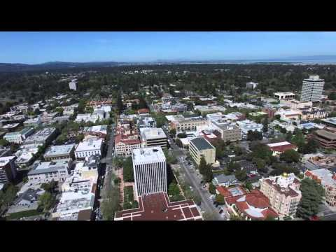 Palo Alto from 500 feet (by Phantom 3 Pro)