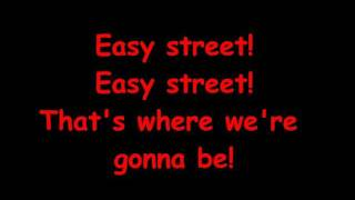 Annie Jr - Easy Street with Lyrics