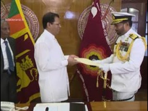 Appointment of new Navy Commander