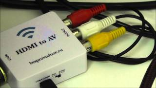 Подключение PS4 к старому телевизору с тюльпанами AV (RCA)(Активный переходник / адаптер / конвертер HDMI-AV ..., 2015-06-17T12:35:37.000Z)