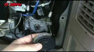 Toyota Sienna 2004 Power Sliding Door Cable & Center Hinge Replacement
