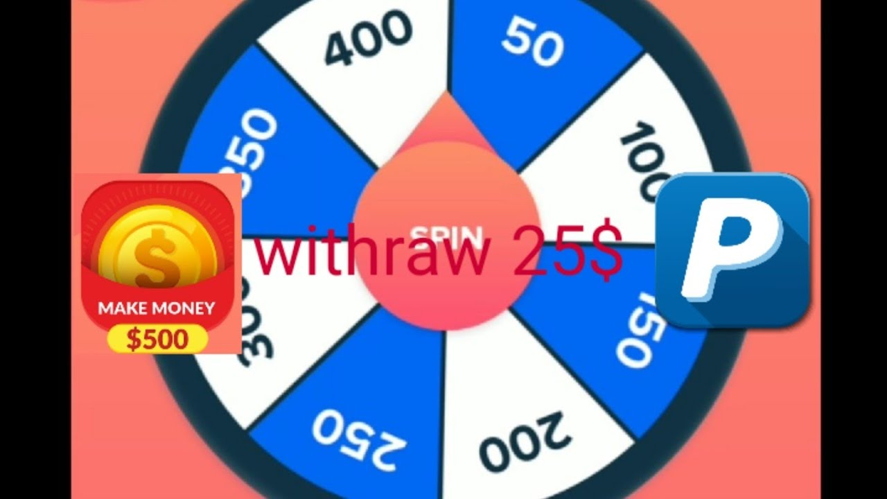 Withraw 25$ with app make money