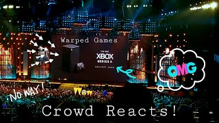 Crowd Reacts to Xbox Series X and Hell Blade 2 World Reveal