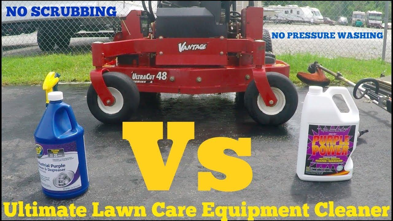 Download Ultimate lawn equipment cleaner- Zep Industrial purple cleaner Vs Purple Power