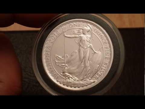 Stunning 2012 Britannia Silver Bullion Coin - A High End Investment Coin