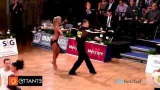 Miha Vodicar - Nadiya Bychkova, GOC Stuttgart 2014, WDSF Grand Slam latin, 3. round - samba