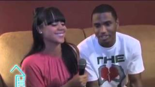 horny chick interviews Trey Songz