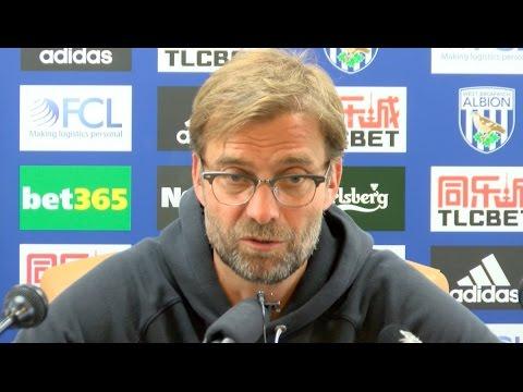 Jurgen Klopp's Post-match Press Conference - West Brom 1-1 Liverpool