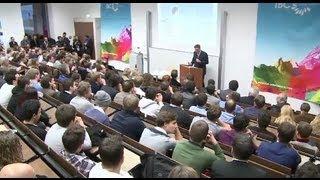Internet Business Cluster: DLD Campus Lecture mit Niklas Zennström