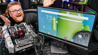 Benchmarking Intel CPU and Radeon GPU on Android?!?!?
