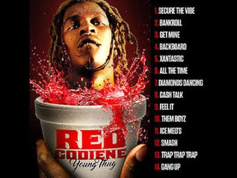 Young Thug   Red Codiene Full Mixtape June 2017