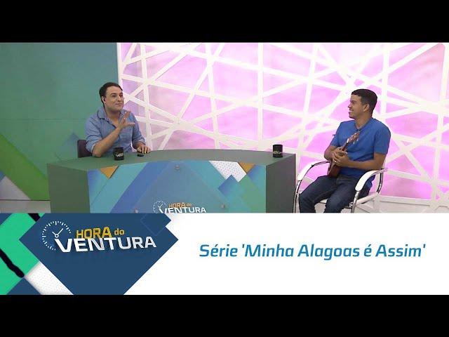 Bastidores da série comemorativa 'Minha Alagoas é Assim' - Bloco 01
