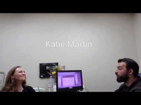 Nutrition consult with Katie Martin Life Time Fitness Trainer