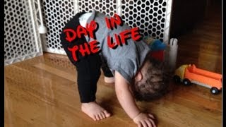 DAY IN THE LIFE WITH 15 MONTH OLD