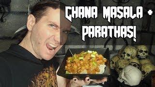 Easy Vegan Chana Masala With Partathas