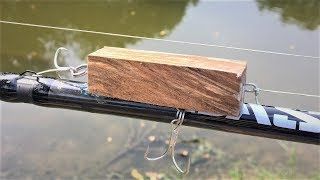 Will Fish Eat a Block of Wood?