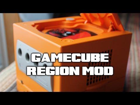GameCube Region Switch Mod - Japan to US tutorial