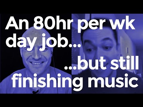 How to Make Heaps of Music with an INSANE Day Job