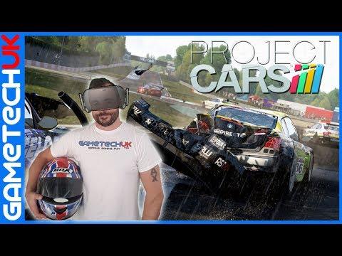 PROJECT CARS VR | Oculus Rift | Logitech G29 | GT Omega Racing Rig