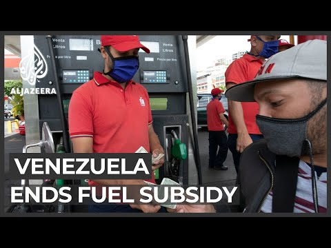 Venezuela increases petrol prices, ends fuel subsidy