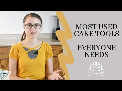 Most Used Cake Decorating Tools Everyone Needs / Essential Cake Tools