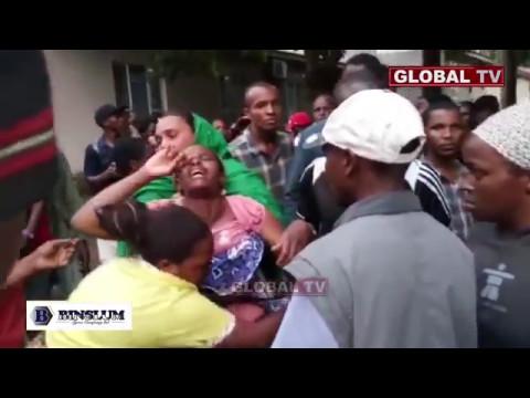 Arusha Ilipozizima wakati Maiti za Wanafunzi Zikiwasili Hospitali ya Mount Meru
