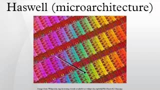 Haswell (microarchitecture)