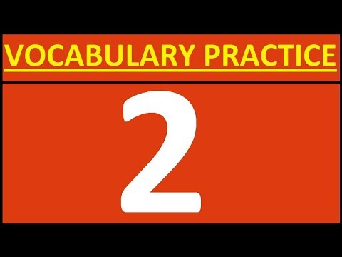 ENGLISH VOCABULARY PRACTICE 2 VOCABULARY WORDS ENGLISH LEARN WITH MEANING OPPOSITE WORDS IN ENGLISH