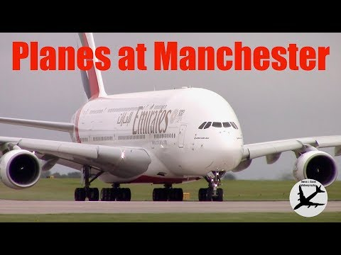 Five Hours at Manchester Southside - 1 Hour of Awesome Aircraft Action!