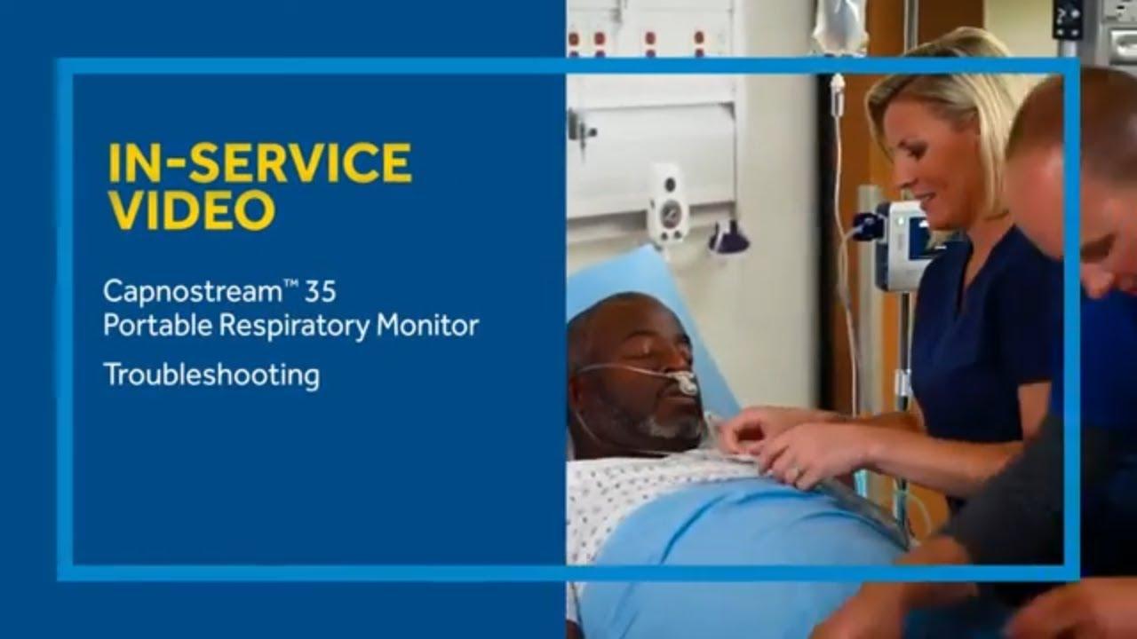 Capnostream™ 35 Portable Respiratory Monitor Troubleshooting