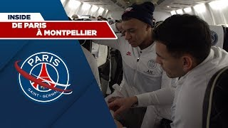 VIDEO: Travel with the team ? Montpellier