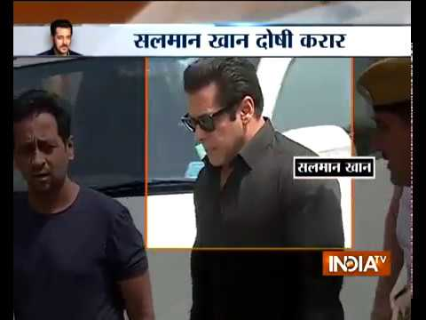 Blackbuck poaching case: Salman Khan convicted; 4 other actors acquitted by Jodhpur court