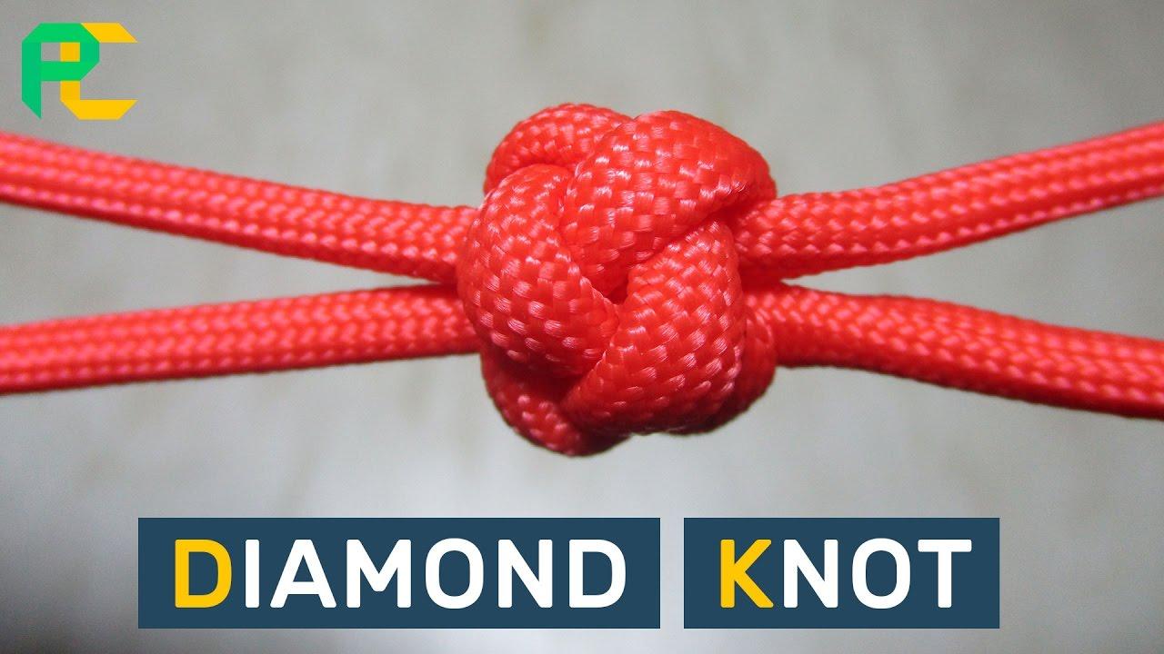 how to make the diamond knot