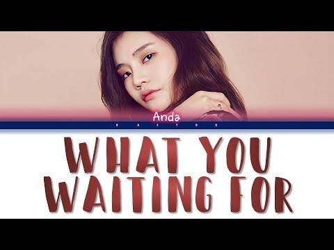 R.Tee x Anda - What You Waiting For (뭘 기다리고 있어) (Indo/Rom/Han/가사 Color Coded Lyrics) || Baeyou
