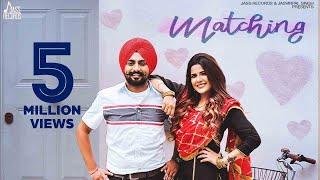 Matching |(Full HD)| Jaskaran Riar | Pejimia | Romantic Song | New Punjabi Songs 2019 | Jass Records