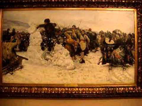 Боярыня Морозова Суриков Картина художника