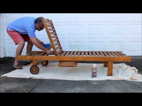 Oceanic Teak Furniture   Care U0026 Maintenance Part 1