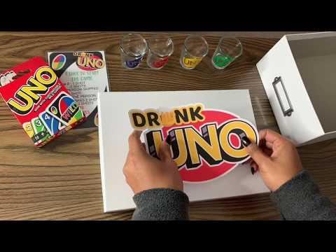 DIY Drunk Uno Card Game
