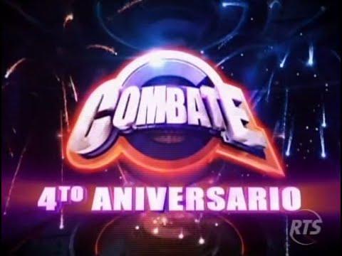 Combate rts ecuador cuarto aniversario de combate youtube for Cuarto aniversario
