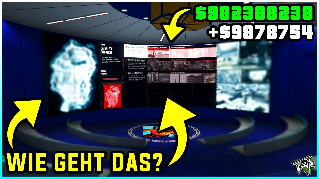 Gta 5 Online Heist Starten