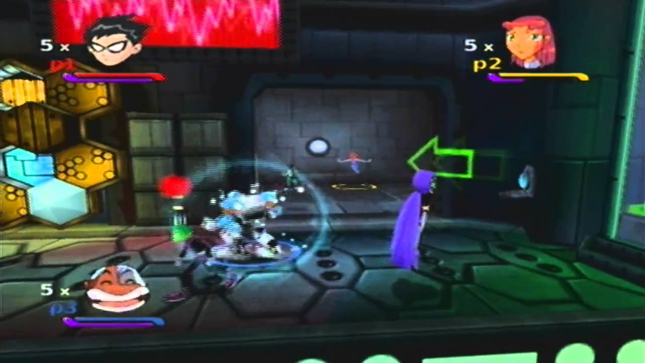 Teen titans gamecube