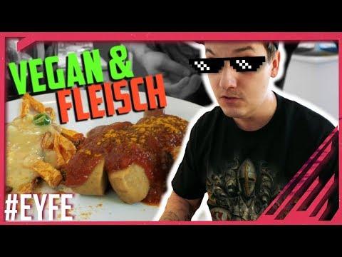 GEILE Currywurst ist GEIL 🤯 100% VEGAN UND FLEISCH! Wie ihr wollt.