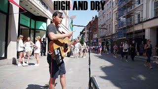 busking: high and dry - radiohead