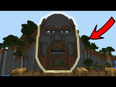 СИД НА ОГРОМНОЕ ЛИЦО НОТЧА в Minecraft PE 1.1.3