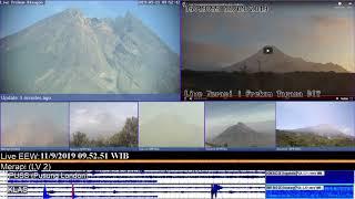 10/9/2019 - Mt Merapi TimeLapse